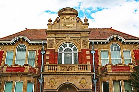 Carnegie Library Portsmouth, architect A.E Cogswell