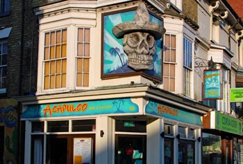 Acapulco Bar and Eatery, Southsea. Mexican, Tex-Mex food.