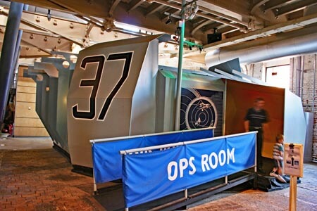 Action Stations at Portsmouth Historic Dockyard