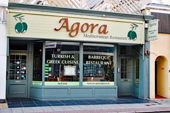 Agora Restaurant, Southsea Restaurants, Greek and Turkish specialities