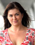 TV presenter Amanda Lamb from Portsmouth