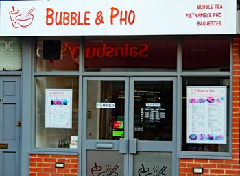 Bubble and Pho, Albert Road in Southsea