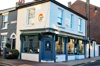 Capers Cafe, Marmion Road, Restaurants in Southsea