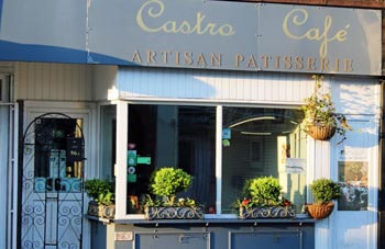 Castro Cafe, Albert Road, Southsea. Cakes, coffees and teas.