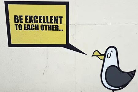 Be excellent to each other, Fark Fk, Southsea
