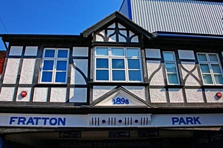 Fratton Park buildings by AE Cogswell