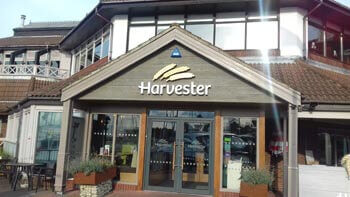 Harvester Pub at Port Solent