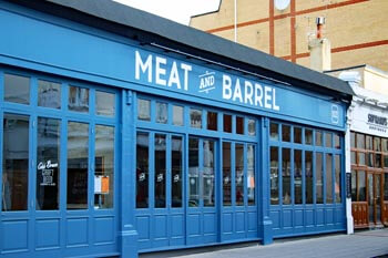 Meat and Barrel bar and restaurant in Southsea
