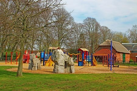 The Play Area at Milton Park, Portsmouth