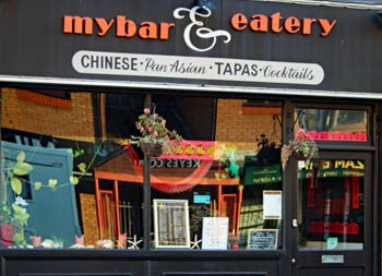 My Bar and Eatery, Southsea. Chinese and Asian Restaurant and bar.