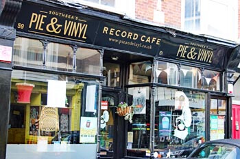 Pie and Vinyl, Castle Road, Southsea