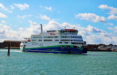 Portsmouth to Fishbourne, Isle of Wight, Car Ferry