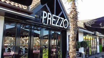 Prezzo Italian restaurant at Port Solent