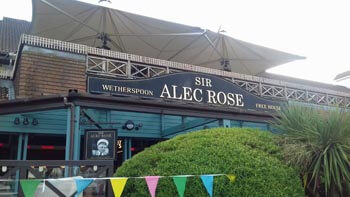 Sir Alec Rose pub at Port Solent