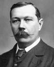 Photo of Aurthur Conan Doyle.