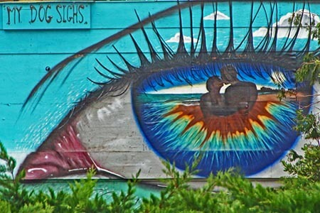 Street Art by My Dog Sighs in Southsea