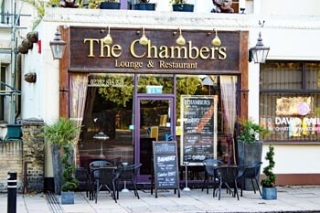 The Chambers Restaurant in Lanport Terrace, Southsea