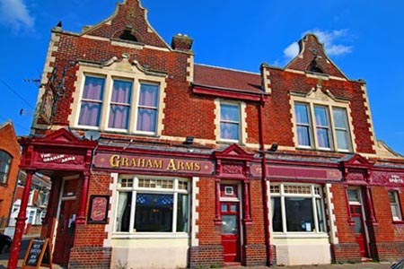 The Graham Arms pub, architect A.E Cogswell