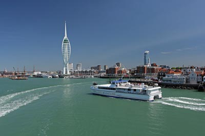 Portsmouth to the Isle of Wight ferry services
