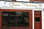 Photo of the Good Fortune chinese restaurant in Old Portsmouth.