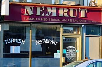 Turkish Restaurant, Albert Road Southsea