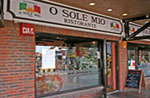 O Sole Mio restaurant at Port Solent, Portsmouth